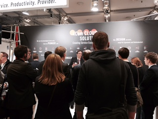CCW 2015, Besuch der Guided Tour am 4Com Stand