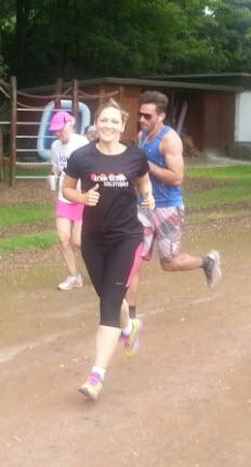 Laufen für den gute Sache: 4Com-Mitarbeiter zeigen, wie es geht