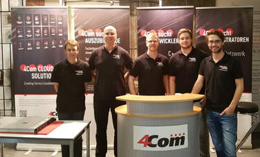 4Com stellt sich auf der Langen Nacht der Berufe 2017 in Hannover vor.