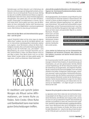 Interview mit 4Com-Geschäftsführer Rainer Holler, Seite 3