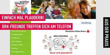 4Com sponsort das telefonische Angebot des DRK für Senioren