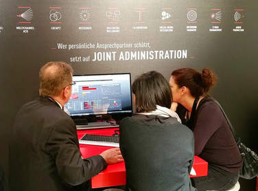 CCW 2015 - Live-Demo am Stand