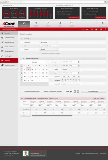 In völlig neuem Look & Feel zeigen sich die Produktoberflächen etwa der Cloud ACD. Dabei lassen sich u.a. Tabellen verkürzen, umsortieren und Favoriten anlegen.