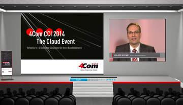 Der Vortragsraum der 4Com CCI 2014