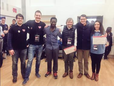"""Das Team des 4Com Innovation Centers siegt beim AI Hackathon der Deutschen Telekom in der Kategorie """"Dialog Management"""""""