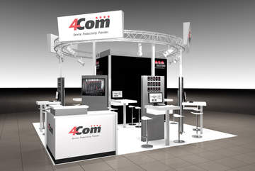 Entdecken Sie auf der CCW am 4Com-Stand in Halle 3, A4 interessante Cloud-Lösungen, wie die Multichannel ACD, für Ihren Kundenservice!