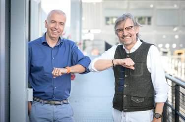 Ralf Mühlenhöver und Olav Strawe