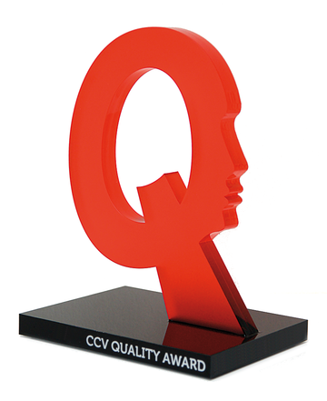 Der CCV Quality Award wird 2013 in einer weiteren Kategorie vergeben - Engel bitte melden!