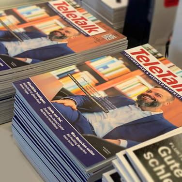 Interview mit dem 4Com-Geschäftsführer Rainer Holler, TeleTalk 02/2020