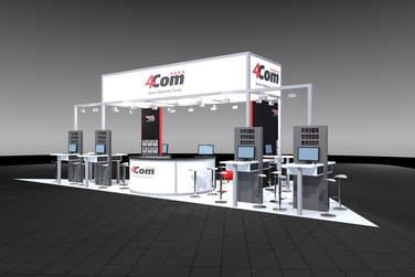4Com zeigt seine Contact Center Lösungen auf der CCW 2017.