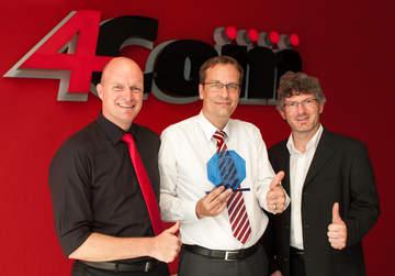 Das Fachmagazin ?Funkschau? hat 4Com zu einem der drei besten Call und Contact Center-Provider des Jahres gekürt!