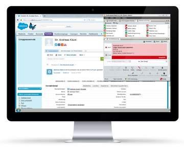 Vorgangsverteilung in Salesforce mit 4Com Multichannel ACD