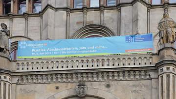 """Die Jobmesse """"Career Dates"""" der Leibniz Universität Hannover fand bereits zum 13. Mal statt und war für 4Com ein voller Erfolg!"""