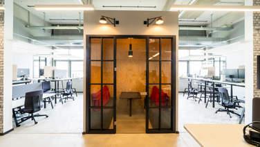 Think Tank auf den neuen Bürofläche