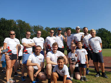 Das 4Com-Team beim Mukoviszidose-Spendenlauf 2019