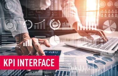 Weiterverarbeitung ihrer Daten leicht und sicher gemacht mit unserem KPI Interface.