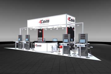 4Com zeigt auf der CCW 2017 cloudbasierte in- & Oiutbound Lösungen für den Kundenservice.