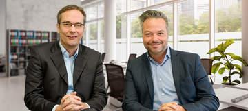 4Com-Geschäftsführung: Holger Klewe und Rainer Holler