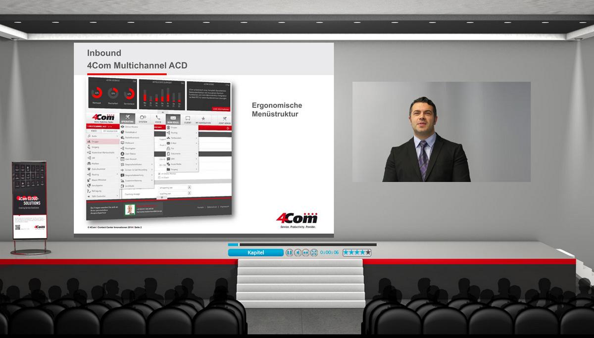 4Com CCI - Das Online-Event für den Customer Service.