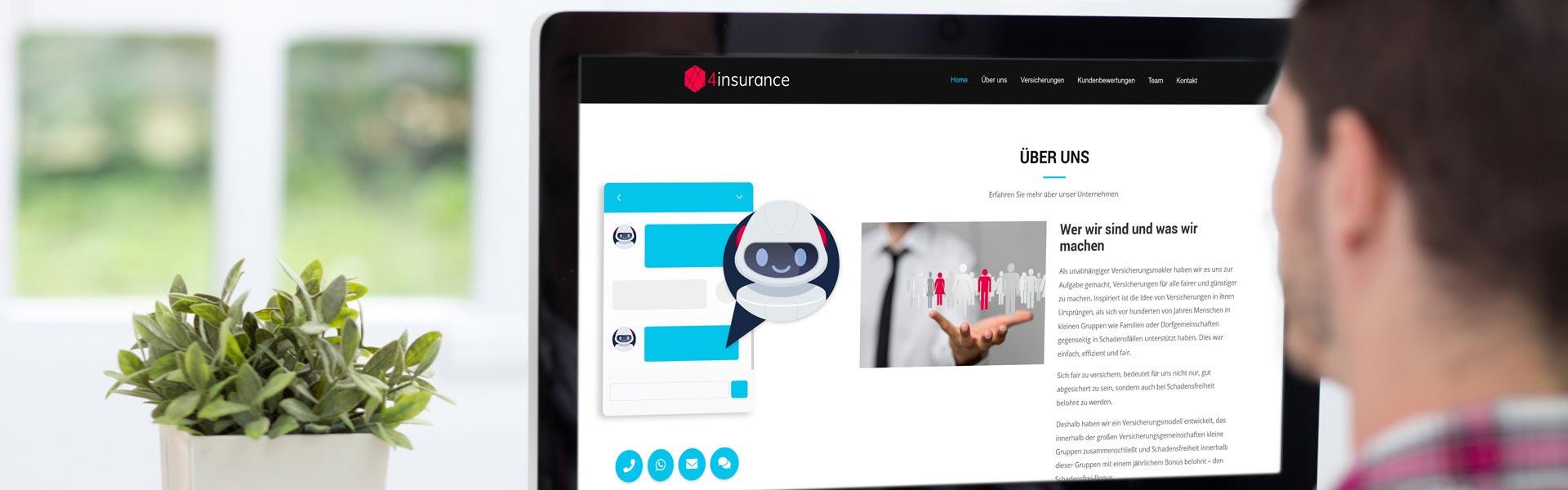 Chat Bots im Kundenservice sind nicht nur 24/7 für Ihre Kunden erreichbar, sondern entlasten auch Ihr Mitarbeiter von einer Vielzahl von Anfragen.