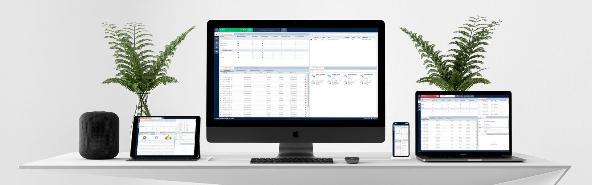 Contact Center Software als modulare Komplettlösung