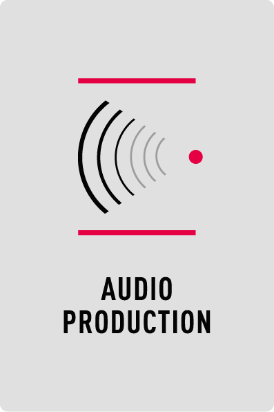 Professionelle Audio Production